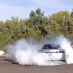 Tesla peel out